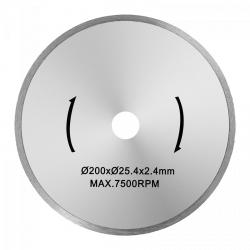 Tarcza do przecinarki do glazury - 200 mm - 25,4 mm