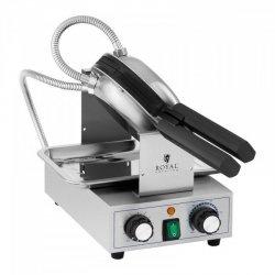 Gofrownica bąbelkowa - 1400 W - 50-250°C - timer: 0-15 min ROYAL CATERING 10011980 RCPMW-1400K