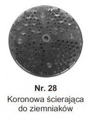 Koronowa ścierająca do ziemniaków MESKO-AGD Nr.28 Nr.28