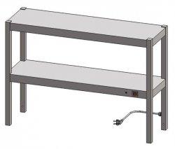 Nadstawka grzewcza dwupoziomowa ENG 20 o wymiarach 900X300 EGAZ ENG-20-900X300X600 ENG 20 900X300X600