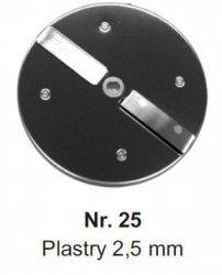 Rozdrabniająca na plastry 2,5 mm MESKO-AGD Nr.25 Nr.25