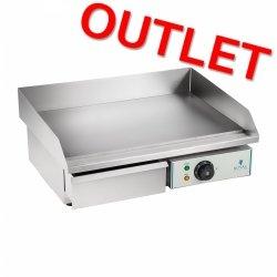 OUTLET | Płyta grillowa 55 cm - gładka - 3000 W ROYAL CATERING 10010250 RCEG-55
