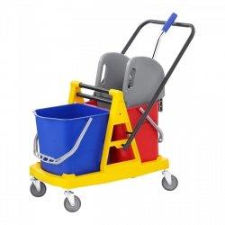 Wózek do sprzątania - 2 x 20l SINGERCON 10110003 CON.CT-2X23W
