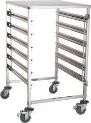 Wózek na pojemniki GN - pełny blat TRL - 6 GN B REDFOX 00016384 TRL - 6 GN B
