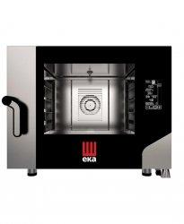 Piec piekarniczo-cukierniczy Black Mask 4 x 600 x 400 elektryczny, z bezpośrednim natryskiem HENDI MKF464BM MKF464BM