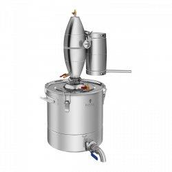 Destylator - 30l - 4-stopniowe chłodzenie ROYAL CATERING 10010981 RCAD30C