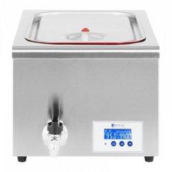 Urządzenie do gotowania sous vide - 700 W - 30-95°C - 24 l - LCD ROYAL CATERING 10011983 CPSU-700