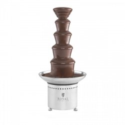 Fontanna czekoladowa - 6 kg - 5 pięter ROYAL CATERING 10010544 RCCF-65W4