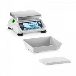 WAGA STOŁOWA Z LEGALIZACJĄ 15 kg / 5 g - 2 PLATFORMY TEM 10200042 TEKO+LCD15C-B1