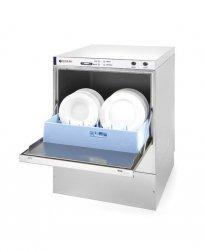 Zmywarka do naczyń 50x50 - sterowanie elektromechaniczne 400V z dozownikiem detergentu HENDI 233030 233030