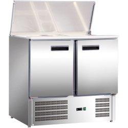 Stół chłodniczy sałatkowy 2 drzwiowy STALGAST 842129 842129