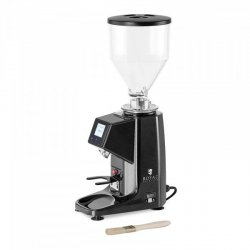 Młynek do kawy - 200 W - 1000 | 500 ml - aluminium - czarny ROYAL CATERING 10011920  RC-CGE22