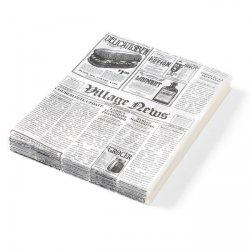 Papier pergaminowy - nadruk gazety 200x250 mm HENDI 678121 678121