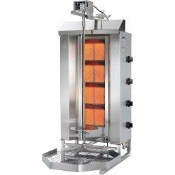 Gyros, kebab, grill gazowy, POTIS, GD-5, STALGAST 777550 777550