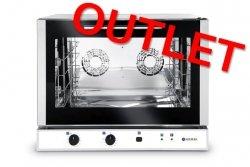 OUTLET | Piec piekarniczy konwekcyjny z nawilżaniem 4x600x400 mm elektryczny sterowanie manualne jednofazowy HENDI 225516