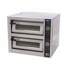 Luksusowy piec do pizzy Maxima 4 + 4 x 30 cm Podwójny 400 V. MAXIMA 09370040
