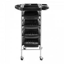 Wózek fryzjerski - 5 pięter - 4 szuflady PHYSA 10040116 RR-7