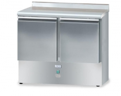 Stół chłodniczy bez agregatu o pojemności 2x65l 950x600x850 DM-90044.0.0 DORA METAL DM-90044.0.0 DM-90044.0.0 600