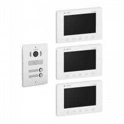 """Wideodomofon dwurodzinny - 3 x 7"""" - LCD STAMONY 10240065 ST-VP-300"""