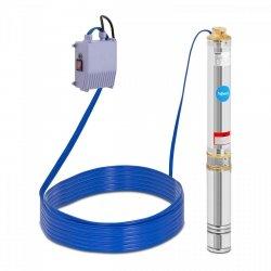 Pompa głębinowa - 550 W - do 80 m - stal nierdzewna Hillvert 10090123 HT-ROBSON-SP550-80