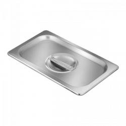Pokrywka na pojemnik gastronomiczny - GN 1/4 - stal nierdzewna ROYAL CATERING 10010658  RCGN-1/4-LID-1