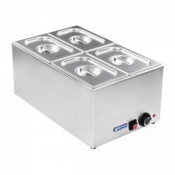 Bemar - 4 x GN 1/4 ROYAL CATERING 10010194 RCBM-1/4-150-GN