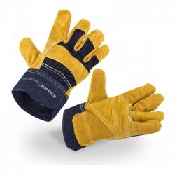 Rękawice robocze - skórzane