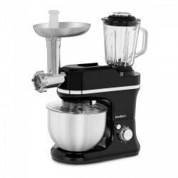 Robot kuchenny 3w1 - 1200 W - 5 l miska - 6 prędkości miksowania BREDECO 10080043 BCPM-1200-EXP
