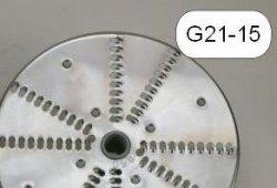 Tarcza nierdzewna wiórki 5 mm MESKO-AGD G21-15 G21-15