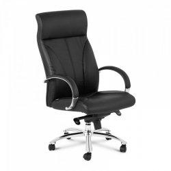 Fotel biurowy - oparcie z ekoskóry - 100 kg FROMM STARCK 10260283 STAR_SEAT_31