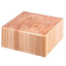 Kloc masarski drewniany 400x500x850 mm na podstawie ze stali nierdzewnej STALGAST 684516 684516