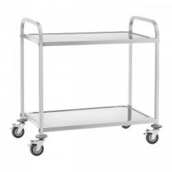 Wózek kelnerski - stal szlachetna - do 160 kg ROYAL CATERING 10011070 RCSW 3E