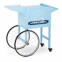 Wózek do popcornu - 51 x 37 cm - niebieski ROYAL CATERING 10011102 RCPT-BBWS-1