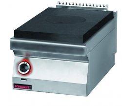 Kuchnia gazowa z płytą grzewczą  400x700x280 mm KROMET 700.KG/I-400 700.KG/I-400