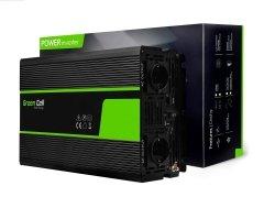 Przetwornica Green Cell® 24V na 230V Czysta sinusoida 2000W GREEN CELL INV20