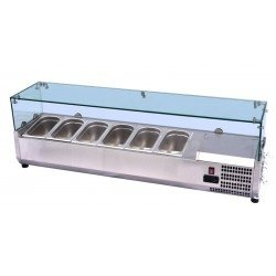 Nadstawka chłodnicza 5xGN1/4 VRX1200/330 INVEST HORECA ESL3880 ESL3880