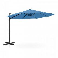 Parasol ogrodowy wiszący - Ø300 cm - niebieski UNIPRODO 10250099 UNI_UMBRELLA_2R300BL