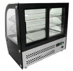 Witryna ekspozycyjna chłodnicza 120l ( LED ) COOKPRO 230090002 230090002