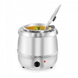 Kociołek do zup - 10 litrów - stal szlachetna ROYAL CATERING 10010566 RCST-10400
