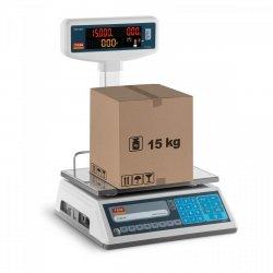 Waga sklepowa - 15 kg / 5 g - legalizacja TEM 10200010 TEL015B1D-V2-B1