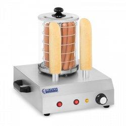 Podgrzewacz do hot dogów - 2 bułki - 30 parówek ROYAL CATERING 10010322 RCHW-350-2