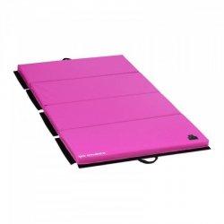 Mata gimnastyczna - 200 x 100 x 5 cm - składana - różowa - obciążenie do 170 kg GYMREX 10230197 GR-FM_20