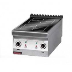 Kuchnia indukcyjna /2 pola/  450x900x280 mm KROMET 900.KE-2i/450 900.KE-2i/450