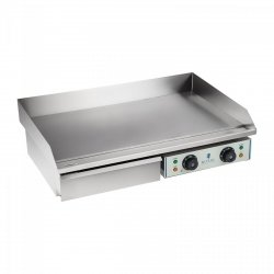 Płyta grillowa - 72,5 cm - gładka - 2 x 2200 W ROYAL CATERING 10010251 RCEG 75