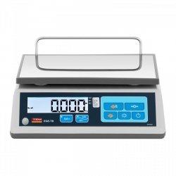 Waga sklepowa - 30 kg / 10 g - 23 x 30 cm - legalizacja TEM 10200020 TTB030D-O-B1