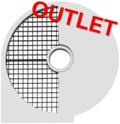 OUTLET | Tarcza do kostek 8 mm do szatkownicy HENDI 231807 i 231852 HENDI