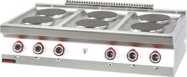 Kuchnia elektryczna /6 płyt/  1200x700x280 mm KROMET 700.KE-6 700.KE-6