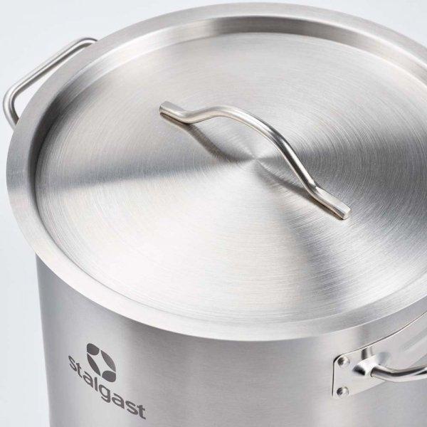 Garnek średni d 400 mm 32,6 l z pokrywką STALGAST 012405 012405