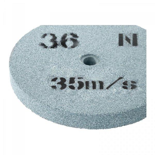 Tarcza do szlifowania - ziarnistość 36 - 150 x 16 mm - 2 szt. MSW 10060803 MSW-GW-150/16-36