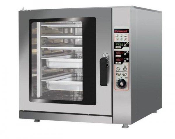 Piec konwekcyjno-parowy  z sondą termiczną  750x742x700 mm KROMET 000.PK-6 000.PK-6
